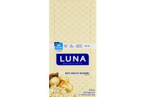 Luna Whole Nutrition Bar White Chocolate Macadamia - 15 CT