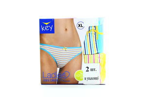 Труси Key Ladies жіночі 2шт LPI 038 A5 XL