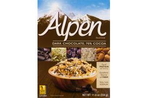 Alpen Muesli Cereal Dark Chocolate 70% Cocoa
