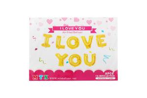 Н-р шаров декоративных I Love You GSB2590H186596