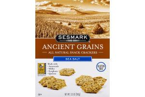 Sesmark Ancient Grains Snack Crackers Sea Salt