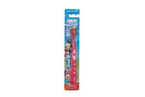 Зубная щетка детская мягкая Kids Oral-B 1шт