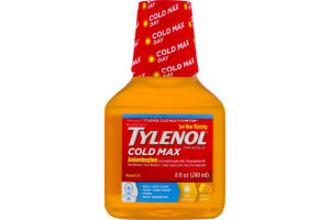 Tylenol For Adults Cold Max Acetaminophen
