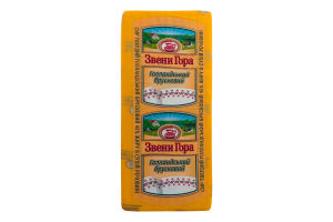 Сир 45% твердий Голландський брусковий Звени Гора кг
