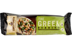 Sweet Earth Burrito The Greek