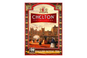 Чай черный цейлонский байховый крупнолистовой Opa English Royal Chelton к/у 100г