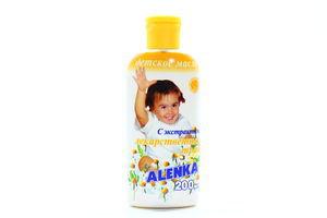 Масло Alenka с экстрактом лекарственных трав детское 200мл