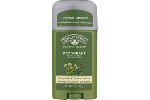 Nature's Gate Herbal Blend Deodorant Chamomile & Lemon Verbena