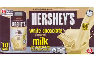 Hershey's White Chocolate Milk 2% Reduced Fat - 10 PK