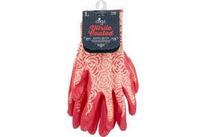 Digz Nitrile Coated Garden Gloves Large