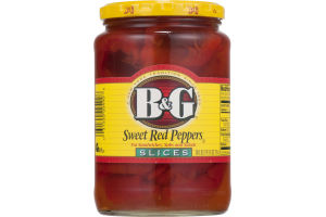B&G Sweet Red Peppers Slices
