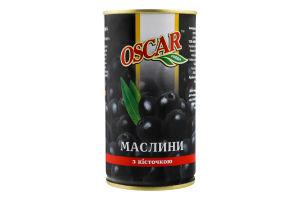 Маслины с косточкой Oscar ж/б 350г
