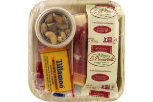 Express Lunch Mozzarella Proscuitto Roll & Cashews