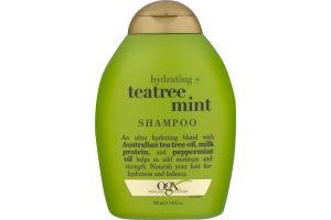 OGX Hydrating Shampoo + Teatree Mint