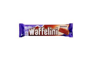 Вафля с какао в молочном шоколаде Waffelini Chocomax Milka м/у 31г