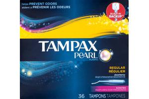 Tampax Pearl Tampons Regular Scented - 36 CT