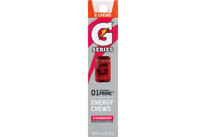 Gatorade G Series 01 Prime Strawberry Energy Chews - 6 CT