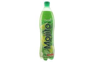 Напиток безалкогольный сокосодержащий среднегазованный Mojito Biola п/бут 1л