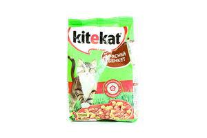 Корм для котов Мясной банкет Kitekat м/у 400г