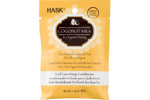 Hask Curl Care Deep Conditioner Coconut Milk & Organic Honey