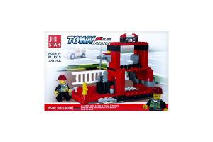 Конструктор Пожарная техника в ассортименте D1
