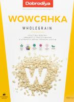 Хлопья овсяные из цельного зерна Wholegrain Wowсянка Dobrodiya к/у 500г