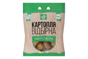 Картопля відбірна мита Чудова марка м/у 1.5кг