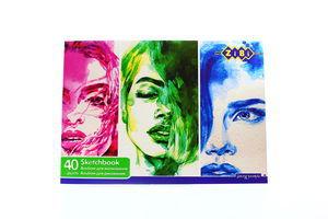 Альбом ZiBi для малювання А4 40арк. ZB.1460