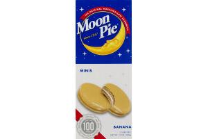 Moon Pie Minis Banana - 12 CT