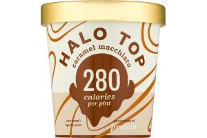 Halo Top Light Ice Cream Caramel Macchiato