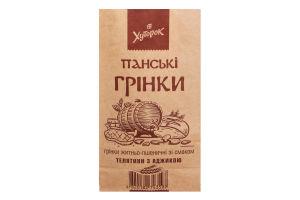 Гренки ржано-пшеничные со вкусом телятины с аджикой Панские Хуторок м/у 100г