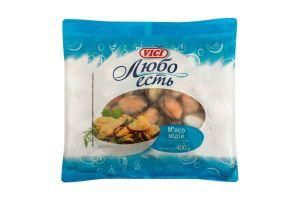 М'ясо мідії варено-морожене глазуроване Vici м/у 400г