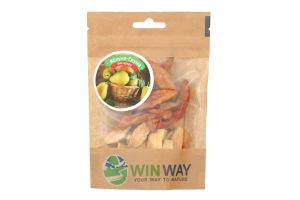 Яблоки и груши сушеные Winway д/п 50г