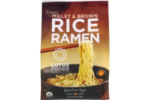 Lotus Foods Organic Rice Ramen Millet & Brown