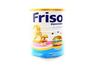 Смесь сухая молочная Фрисолак 2 6-12мес Friso 900г