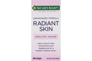 Nature's Bounty Radiant Skin Dietary Supplement - 40 CT
