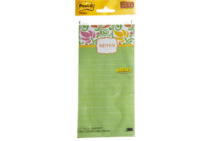 Post-it Magnet Super Sticky Notes - 75 CT