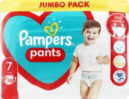 Трусики-підгузники для дітей 17+кг 7 Pants Pampers 38шт