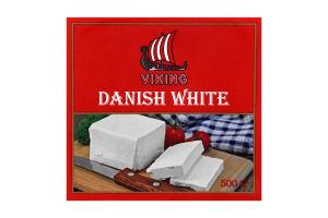Продукт сирний 50% Danish white Viking т/п 500г