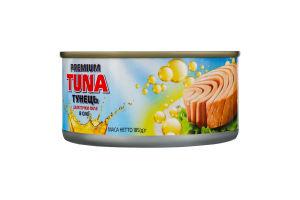 Тунець шматочками у соняшниковій олії Polar Seafood з/б 185г