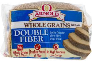 Arnold Whole Grains Bread Double Fiber