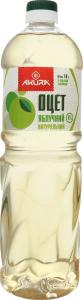 Уксус яблочный 6% натуральный Akura п/бут 1л