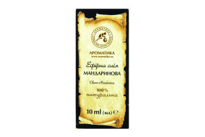 Эфирное масло мандариновое Ароматика 10мл