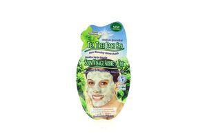 Маска-салфетка для лица Мята и чайное дерево Montagne Jeunesse 1шт