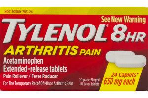 Tylenol Arthritis Pain Reliever Caplets - 24 CT