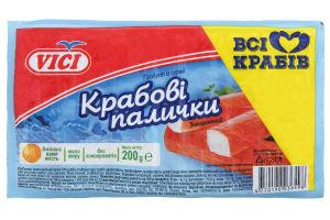 Крабовые палочки замороженные Vici в/у 200г