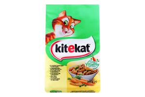 Корм сухий для дорослих котів З куркою та овочами KiteKat м/у 300г