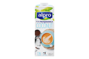 Напій соєвий Coconut For professionals Alpro т/п 1л