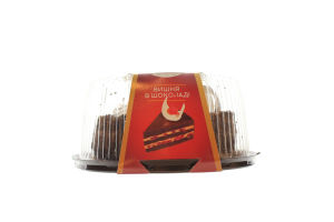 Торт Сладков Вишня в шоколаді 0,550кг