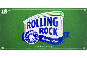 Rolling Rock Extra Pale - 18 PK
